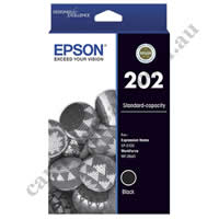 Genuine Epson T02N1/202 Black Ink Cartridge