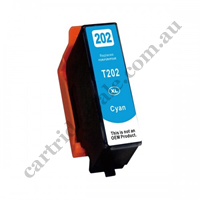 Compatible Epson T02P2/202XL High Yield Cyan Ink Cartridge