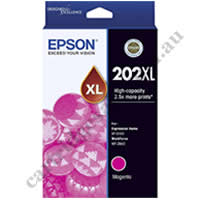 Genuine Epson T02P3/202XL High Yield Magenta Ink Cartridge
