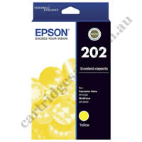 Genuine Epson T02N4/202 Yellow Ink Cartridge