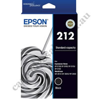 Genuine Epson T02R192/212 Black Ink Cartridge