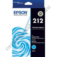 Genuine Epson T02R292/212 Cyan Ink Cartridge