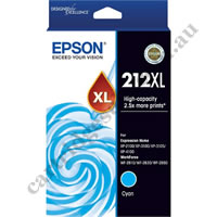 Genuine Epson T02X292/212XL High Yield Cyan Ink Cartridge