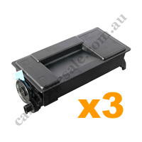 3 x Compatible Kyocera TK3134 Black Toner Cartridge