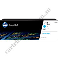 Genuine HP W2041X (416X) High Yield Cyan Toner Cartridge