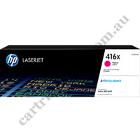 Genuine HP W2043X (416X) High Yield Magenta Toner Cartridge