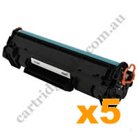 5 x Compatible HP CF248A 48A Black Toner Cartridge