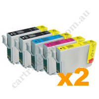 Any 10 Compatible Epson 702XL/T3451-4 High Yield Ink Cartridges