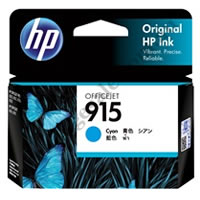 Genuine HP 915 Cyan (3YM15AA) Ink Cartridge