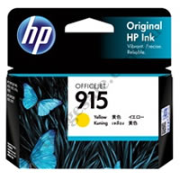 Genuine HP 915 Yellow (3YM17AA) Ink Cartridge