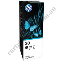 Genuine HP 30 (1VU29AA) Black Ink Bottle
