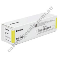 Genuine Canon PGI7600Y Yellow Ink Cartridge