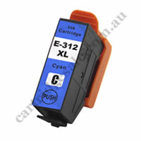 Compatible Epson T1832/312XL High Yield Cyan Ink Cartridge