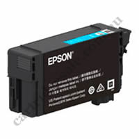 Genuine Epson T40U200  50ml UltraChrome Cyan Ink Cartridge
